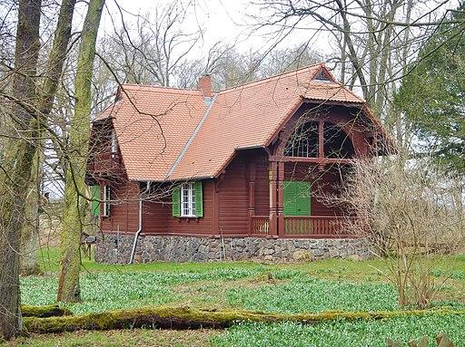 Forsthaus bei der Kapenmühle in Oranienbaum-Wörlitz - panoramio