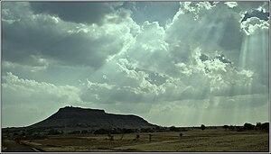 Bhushangad - Bhushangad from the plains