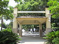 Fort Walton Landing entrance pavillion.JPG