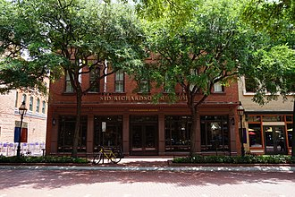 Sid W. Richardson - The Sid Richardson Museum in Fort Worth, Texas.