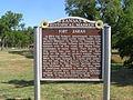 Fort Zarah Park (KS State Hist Marker) P5310468.JPG