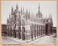 Fotografi av katedralen i Milano - Hallwylska museet - 103021.tif