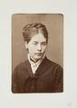 Fotografiporträtt på Augusta Asplund - Hallwylska museet - 107765.tif