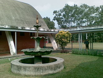 Teacher-Student Centre, University of Dhaka - Fountain in TSC
