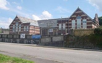 Rame Peninsula - Fourlanesend School, one of the local primary schools for the Rame Peninsula
