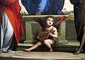 Fra bartolomeo, madonna col bambino in trono e santi, 1530 ca., da duomo, 05.JPG