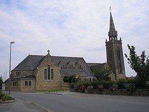 Rieux, Morbihan - Saint-Melaine Church, in Rieux