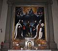 Francesco curradi o bernardo veli, Madonna in gloria e santi, dal monastero della crocetta 01.JPG