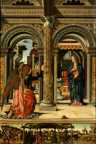 File:Francesco del Cossa - The Annunciation - Google Art Project.jpg