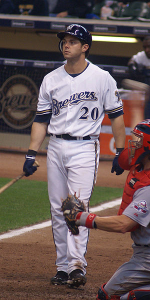 Frank Catalanotto - Catalanotto with the Milwaukee Brewers