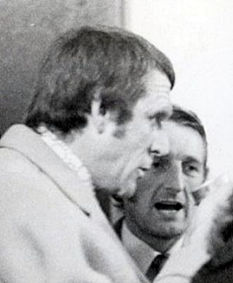Frank Lord - Lord talking to George Eastham