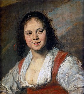<i>The Gypsy Girl</i> painting by Frans Hals