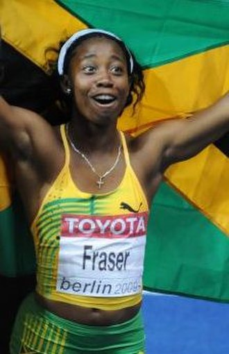 2010 in athletics (track and field) - Shelly-Ann Fraser received a six-month suspension for using a banned painkiller.