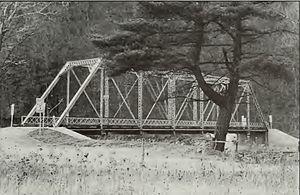 Frehn Bridge - 1990 HABS/HAER photo
