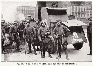 <i>Freikorps</i> German volunteer military or anti-communist paramilitary units