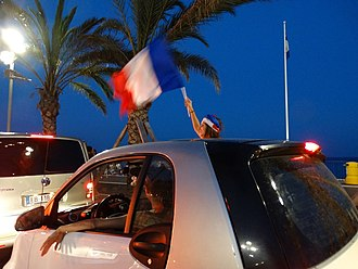 French football fans in Nice - 15.07.2018 French football fans in Nice - 15.07.2018.jpg
