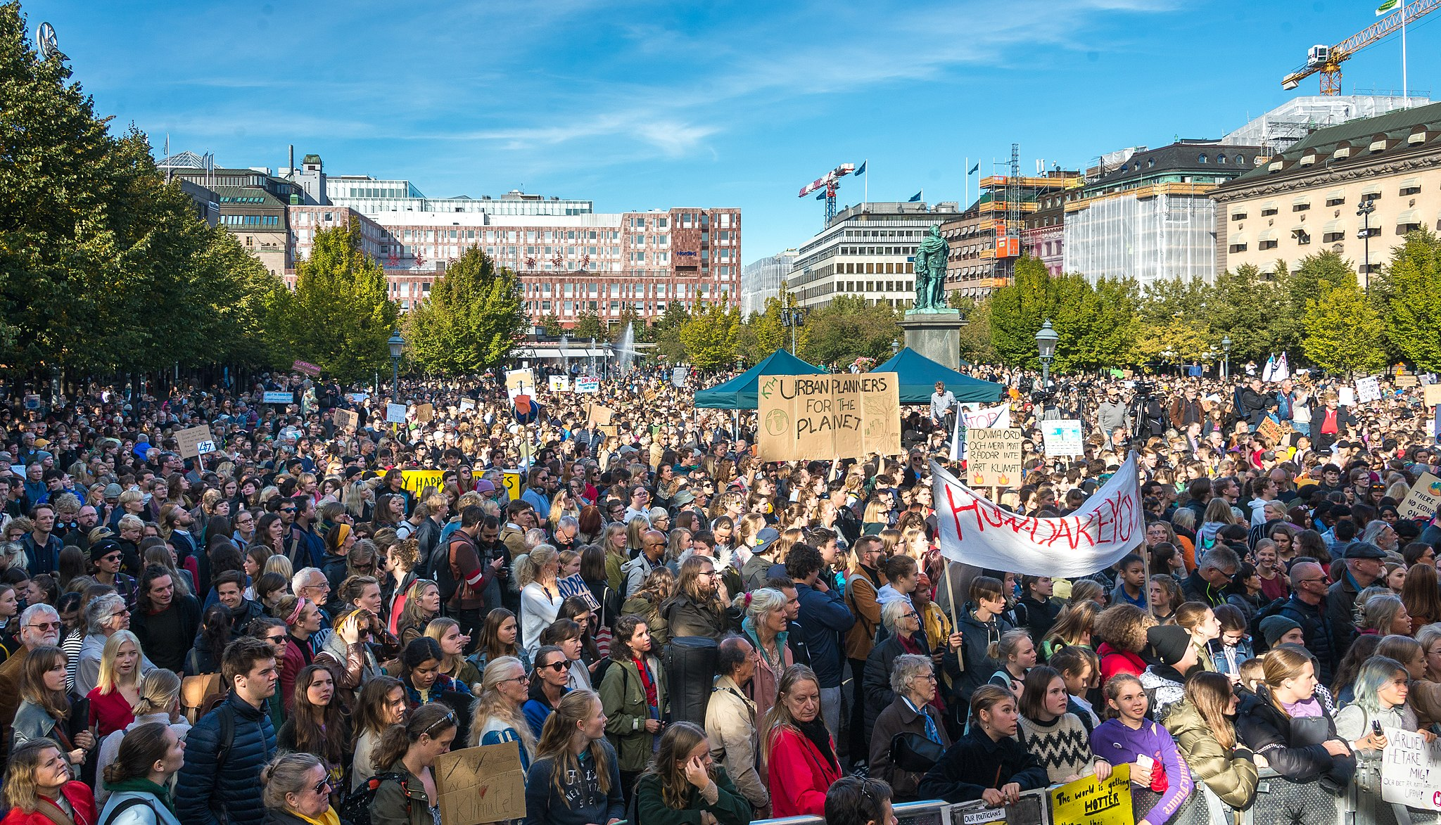Fridays for Future in Stockholm 2019