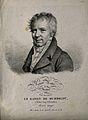 Friedrich Heinrich Alexander von Humboldt. Lithograph by J. Wellcome V0002926.jpg
