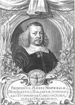 Frederick III, Duke of Holstein-Gottorp - Image: Friedrich III Herzog von Schleswig Holstein Gottorf