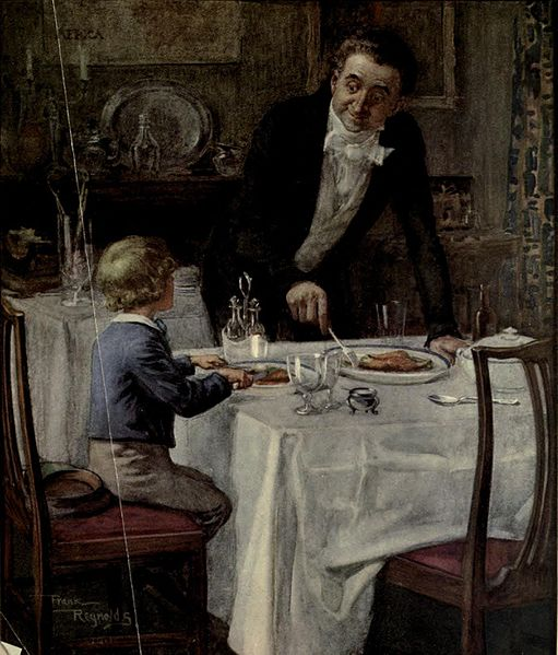File:Friendly waiter from David Copperfield art by Frank Reynolds.jpg