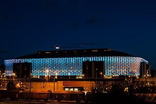 Friends Arena Association football stadium in Solna, Sweden