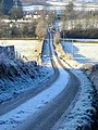 Frost Covered Road at Old Cluden - geograph.org.uk - 638629.jpg