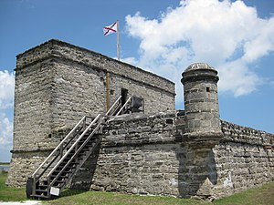National Monument (United States) - Fort Matanzas National Monument, Florida