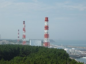 The Fukushima 1 NPP
