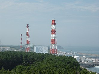 Fukushima Daiichi Nuclear Power Plant - The Fukushima Daiichi Nuclear Power Plant in 2002