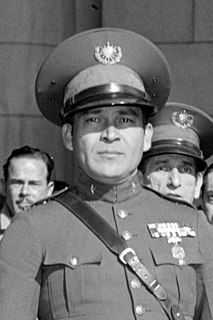 Fulgencio Batista military leader of Cuba