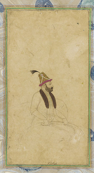 Fil:Full Portrait of Nadir Shah.jpg