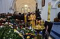 Funeral of Ryhor Baradulin in Red Church, Minsk 01.JPG