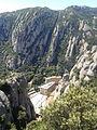 Funicular de Sant Joan vist des del pla de la Trinitat (Montserrat).jpg