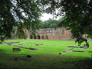 Furness College, Lancaster - Furness Abbey or St Mary of Furness is a former Cistercian monastery situated on the outskirts of Barrow-in-Furness