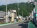 Futatsui Station Front Street.JPG