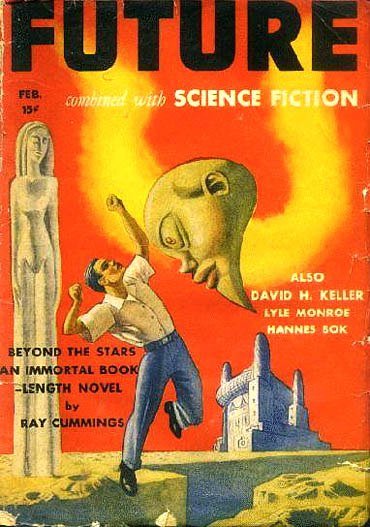 Future combined with Science Fiction February 1942