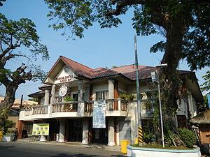 Santa Lucia, Ilocos Sur - Town hall facade