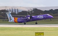 G-FLBE - DH8D - Flybe