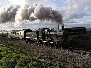 GWR 2251 Class - Preserved 3205 on the Gloucestershire Warwickshire Railway.