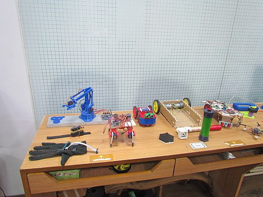 Gadgets created at Curiosity Gym makerspace