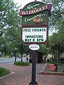 Gainesville FL courthouse plaza sign01.jpg