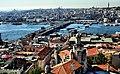 Galata kulesinden İstanbul 360 derece 4.Haliç ve Galata köprüsü - panoramio.jpg