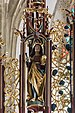 Gampern Kirche Flügelaltar Gesprenge Pantaleon 01.jpg