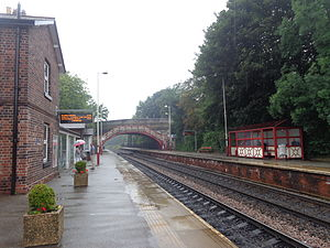 Garforth - Image: Garforth railway station (19th July 2014) 006