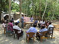 Gathering in a meeting of villagers in an Bangladeshi village 2015 25.jpg