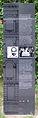 Gedenktafel Kommandantenstr 63 (Kreuz) Fritz Flato.jpg