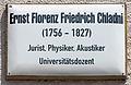 Gedenktafel Mittelstr 5 (Wittenberg) Ernst Florens Friedrich Chladni.jpg
