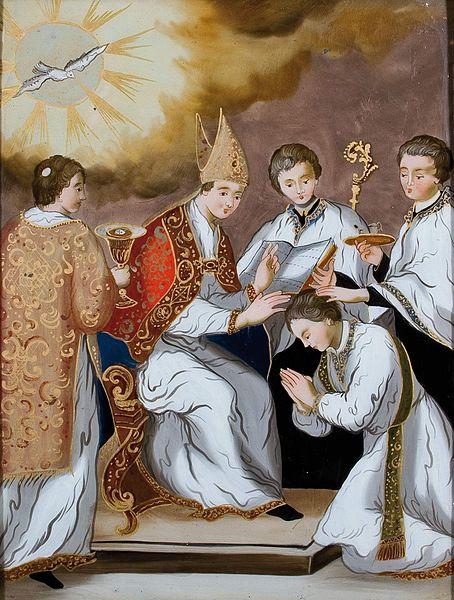 Datei:Gege (workshop) Sieben Sakramente 6 Priesterweihe.jpg