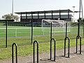 Geispolsheim (Bas-Rhin) Stade Turnmatt, la tribune du foot.jpg