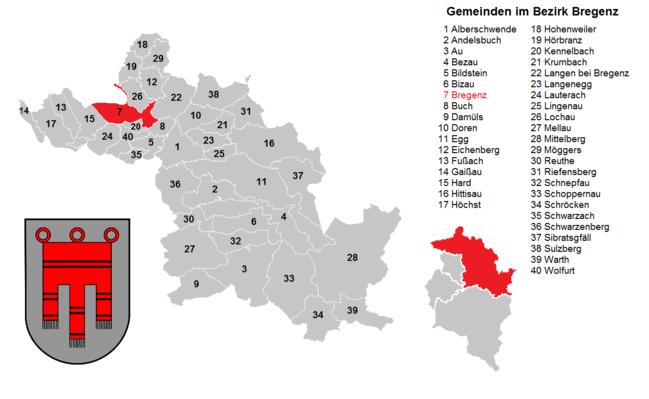 Bregenz District